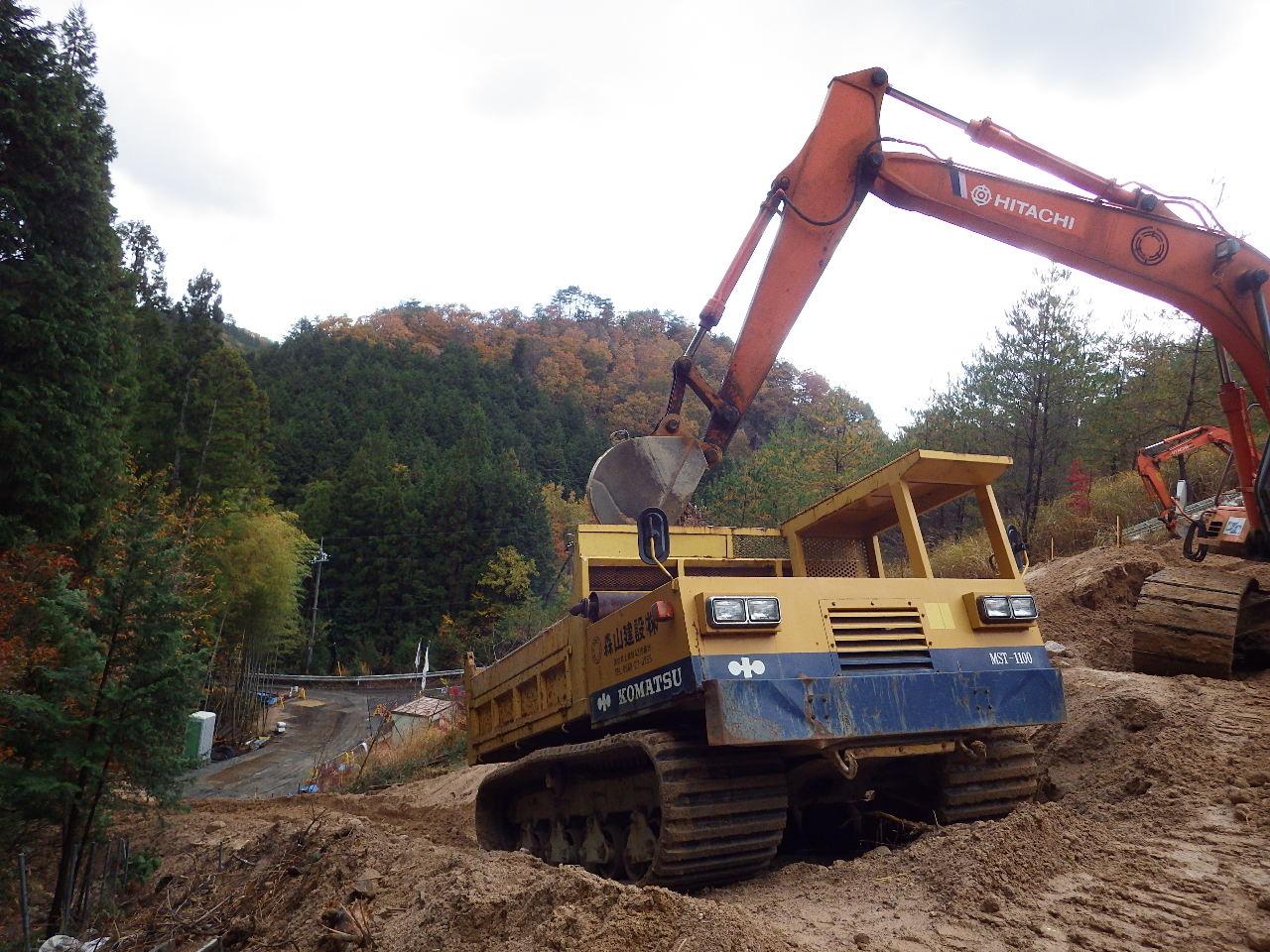 米子自動車道 真庭地区盛土補修工事