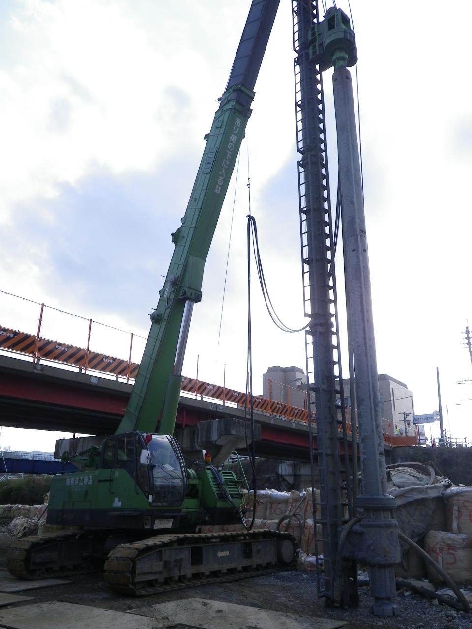 市道B261号線橋梁下部工ほか改良工事